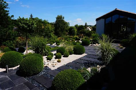 Jardin Paysager Contemporain Design by Best Jardin Paysager Contemporain Design Images