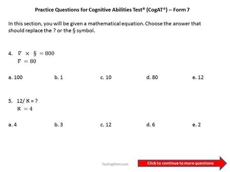 practice test 2 for the cogat form 7 grade 3 level 9 cogat grade 3 cogat grade 3 practice test for the cogat form 7 grade 3 pin by testingmom on cognitive abilities test or
