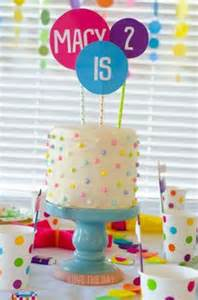 2nd Birthday Decorations At Home 1000 Ideas About Polka Dot Birthday On Pinterest Polka