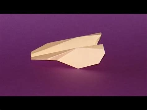 How To Make A Paper Tv - how to make an origami paper airplane 03 tv