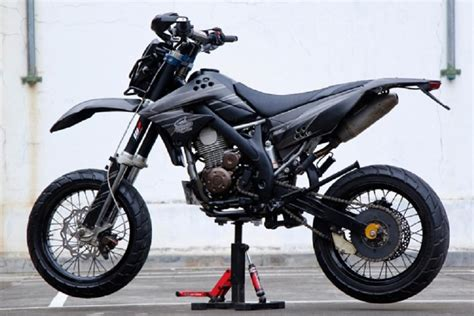 Konsep Modifikasi Motor by Konsep Modifikasi Kawasaki Klx Supermoto For Android Apk