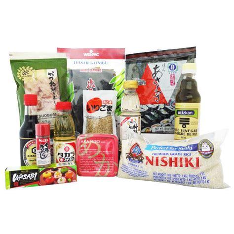 prodotti cucina giapponese japan centre kit di ingredienti essenziali della cucina