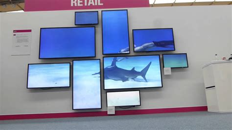 video wall layout datapath onelan creative 4k video wall nec showcase