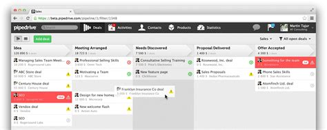 pipeline layout and features sales management system track leads more effectively