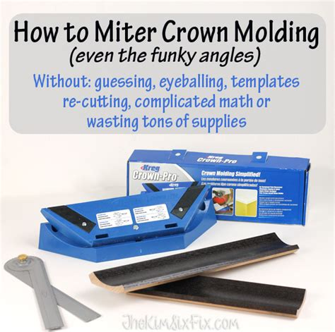 Hot To Miter Crown Molding Png