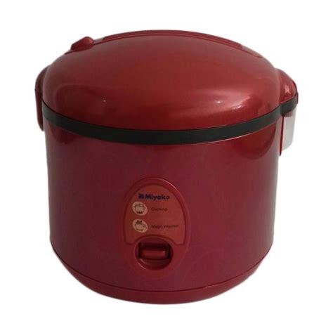 Miyako Rice Cooker Mcm 508 1 8 L Penanak Nasi Putih Hijau jual miyako mcm 508 r magic merah 1 8 l harga kualitas terjamin blibli