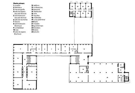 Elevation Symbol On Floor Plan by Bauhaus Building In Dessau Data Photos Amp Plans