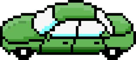pixel car png clipart pixel car green