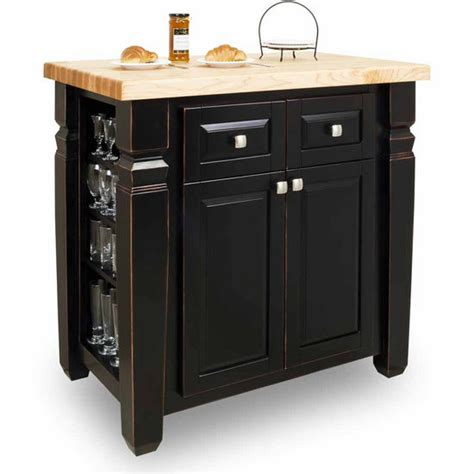 jeffrey alexander kitchen island jeffrey alexander loft kitchen island with hard maple edge