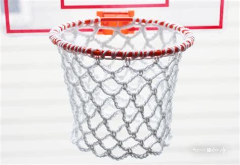 net pattern crochet repeat crafter me crochet basketball hoop net