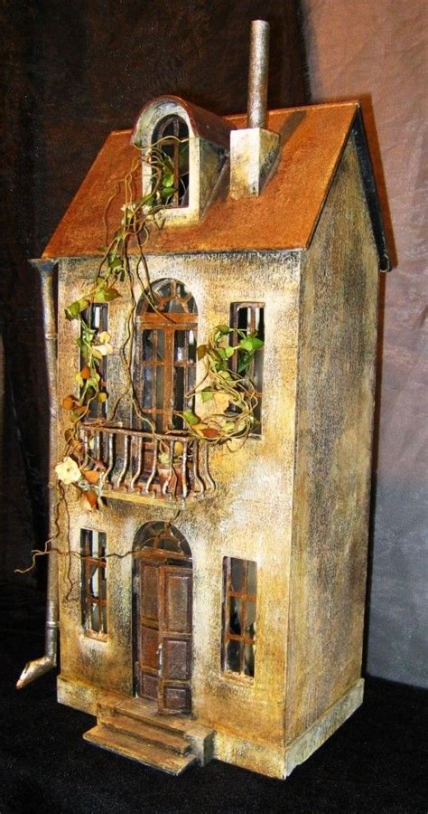 unusual dolls houses pin by sharon johnson on dollhouse exteriors pinterest