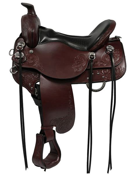 the wire horse western saddles circle y tucker tex 15 5inch to 18 5inch tucker horizon standard trail saddle