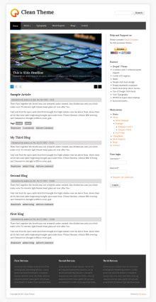 drupal theme ordered list clean theme drupal org