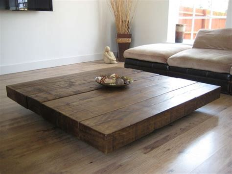 large square wood coffee table 25 best ideas about large coffee tables on