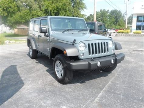 2014 Jeep Wrangler Unlimited Dimensions 2014 Jeep Wrangler Unlimited Sport 4x4 Rhd Data Info And