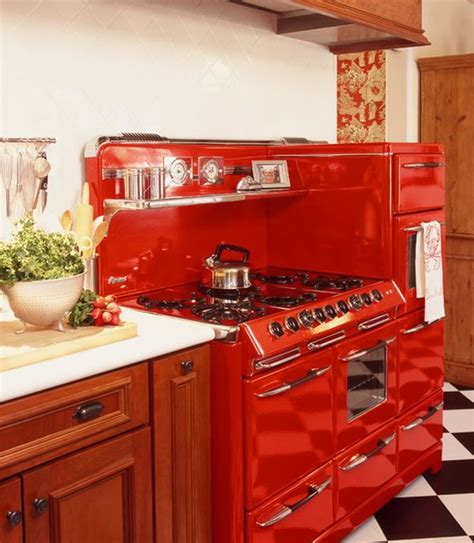 red kitchen appliances eye catching kitchen appliances a fun and colorful way of