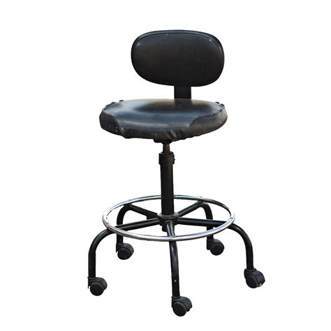 Drafters Stool vintage black cramer adjustable drafting stool ebay