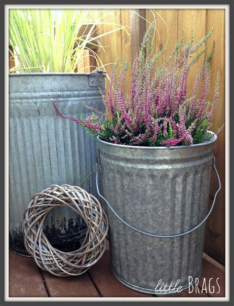 Trash Can Planter by Brags Trash Can Planters