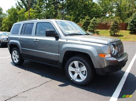 gray jeep patriot mineral gray metallic 2013 jeep patriot latitude exterior