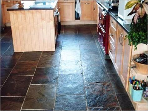 Slate Kitchen Floor Fix Your Kitchen With Slate Kitchen Flooring Mybktouch