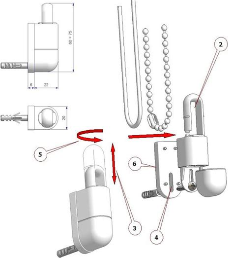 curtain draw cord cord and chain tensioner eco atp technical articles for