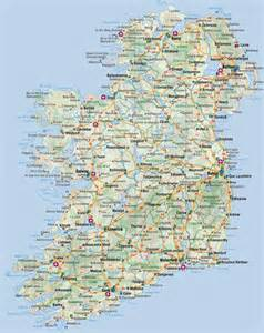 maps of ireland detailed map of ireland in