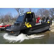 Amphibious Vehicle Demoed At Columbia Island Marina