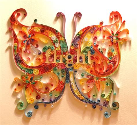 Paper Quilling Craft - beautiful quilling patterns learn paper quilling