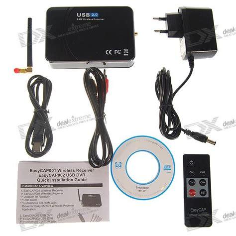 Easycap Usb 2 0 4 Channel Dvr easycap usb 2 0 4 channel wireless receiver wired