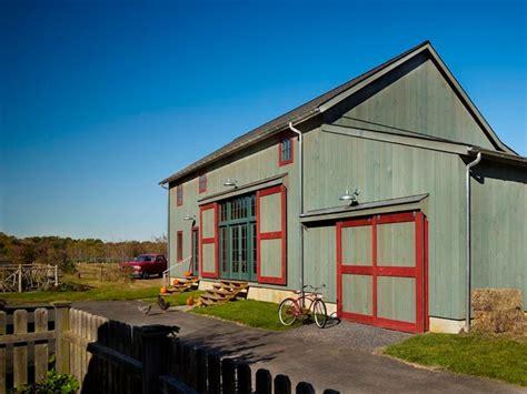 princeton barn conversion farmhouse garage and shed