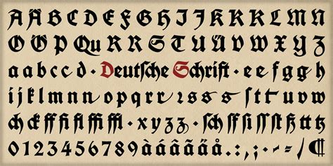 common types 187 fraktur font free font samples from the web