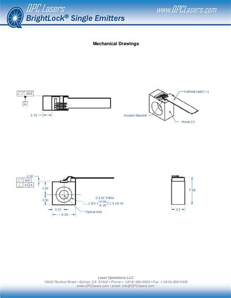 laser diode operation pdf 808nm laser diode 2 5watt infrared laser qpc