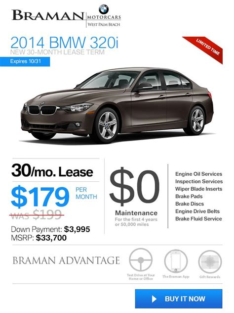 bmw lease india bmw lease price reduced new 2014 bmw 320i in west palm