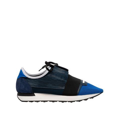 balenciagas shoes balenciaga race runners blue s race shoes