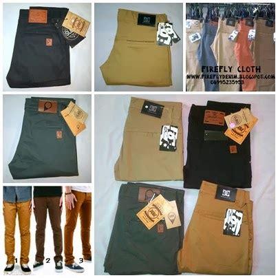 Celana Chino Hitam By Daino Store www fireflystore celana denim