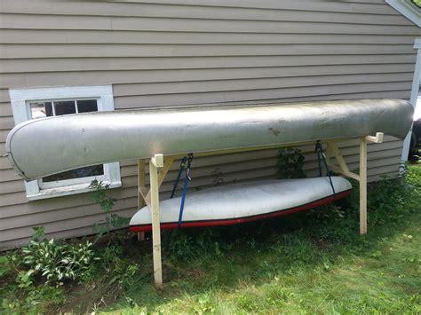Kayak Rack by Canoe And Kayak Storage Rack Jonathan Damon