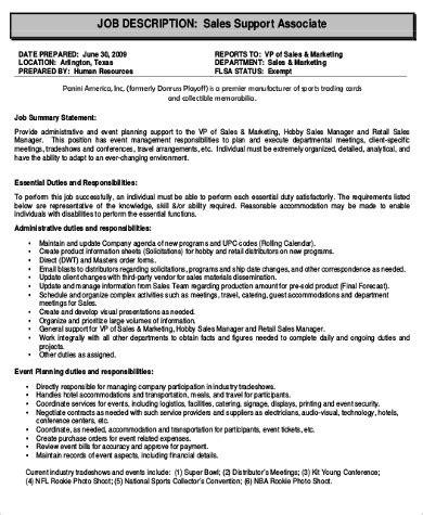 retail associate description sle 9 exles in word pdf