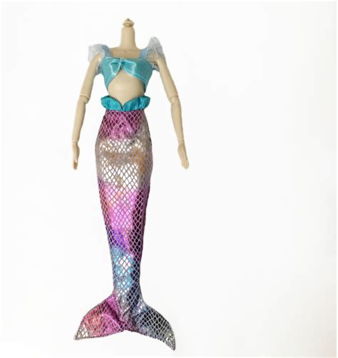 Handmade Mermaid - new fashion handmade mermaid princess dress clothes