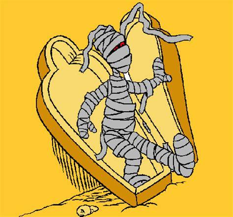 imagenes momias halloween dibujo de momia pintado por extremista7 en dibujos net el