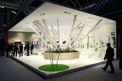 booth design art boris klimek designed the cisal tradeshow booth for fair