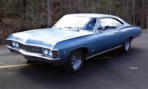 1967 chevrolet impala 2 door hardtop 39711