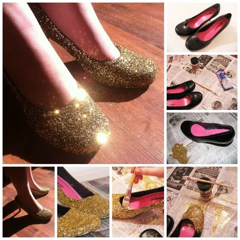 diy shoes tutorial diy shoe glitter pictures photos and images for