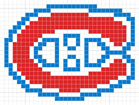 pattern paper montreal nhl montreal canadiens crest for an afghan i m making now