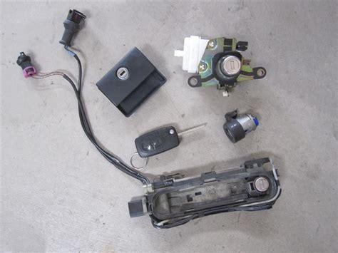 Audi A4 B5 Key by 00 02 Audi S4 B5 Key Set Complete W Matching Key