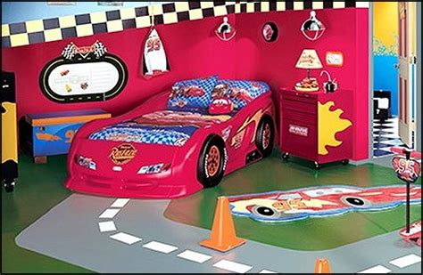 Lighting Mcqueen Bedroom Decorating Theme Bedrooms Maries Manor Car Beds Car Racing Theme Bedrooms Theme Beds