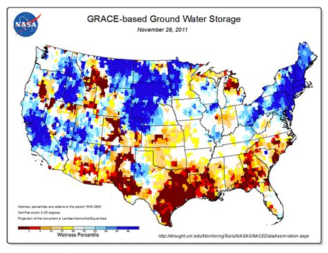usa water map united states drought map