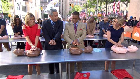 cpr challenge today gets saving for world cpr challenge