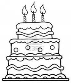 birthday cake coloring page cake coloring pages getcoloringpages