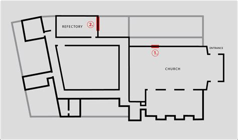 monastery floor plan nika span