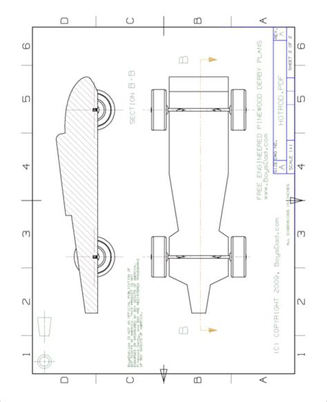 pine wood derby template 27 awesome pinewood derby templates free sle